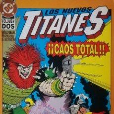 Cómics: LOS NUEVOS TITANES CAOS TOTAL. Lote 111595046