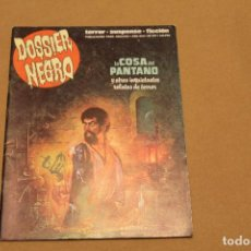 DOSSIER NEGRO Nº 209, EDITORIAL ZINCO