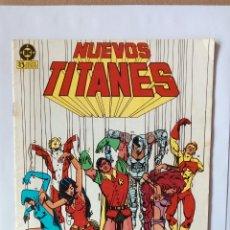 Cómics: NUEVOS TITANES N°9. Lote 111859343