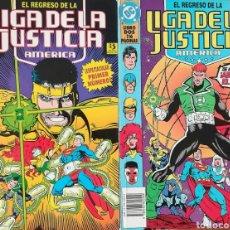 Cómics: EL REGRESO DE LA LIGA DE LA JUSTICIA. Lote 111910176