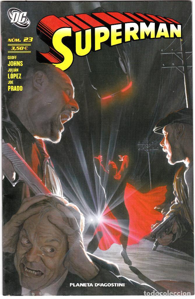 SUPERMAN Nº 23 - PLANETA DC. (Tebeos y Comics - Zinco - Superman)