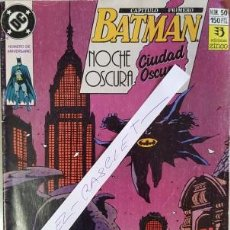 Cómics: BATMAN Nº 50 - NOCHE OSCURA - CIUDAD OSCURA -. Lote 112101771