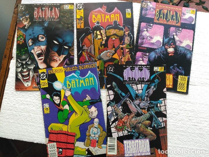 LOTE DE 5 COMICS DE BATMAN (Tebeos y Comics - Zinco - Batman)