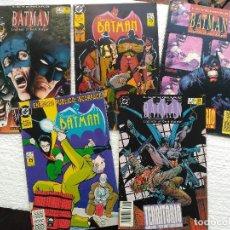 Cómics: LOTE DE 5 COMICS DE BATMAN. Lote 112152019
