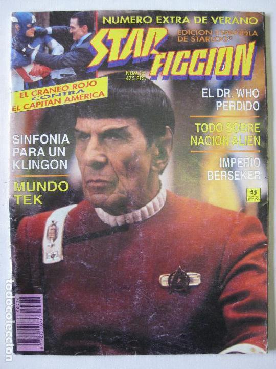 STAR FICCION - EXTRA DE VERANO Nº16 (Tebeos y Comics - Zinco - Otros)