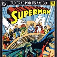 Cómics: SUPERMAN: FUNERAL POR UN AMIGO. Lote 112515283