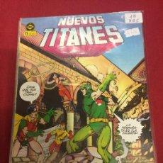 Cómics: NUEVOS TITANES NUMERO 18 MUY BUEN ESTADO REF.38. Lote 112673643