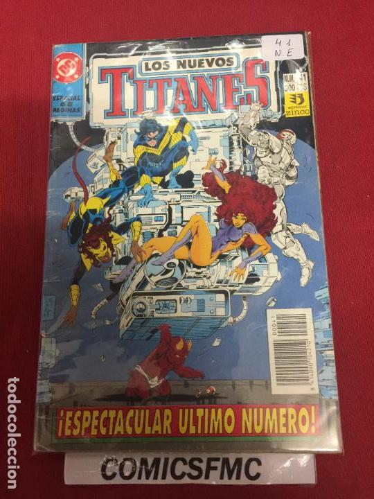 LOS NUEVOS TITANES VOLUMEN 2 NUMERO 41 NORMAL ESTADO REF.38 (Tebeos y Comics - Zinco - Nuevos Titanes)