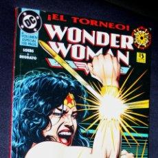 Cómics: WONDER WOMAN : EL TORNEO ( MESSNER-LOEBS Y DEODATO JR) VOLUMEN ESPECIAL 100 PÁGINAS. Lote 112711507