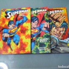 Cómics: SUPERMAN / JUICIO FINAL. CAZADOR / PRESA. Lote 112911363