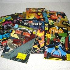 Cómics: LOTE SOLO BATMAN , CLASICOS DC - ZINCO Y BRUGUERA - 19 COMICS + 2 RETAPADOS. Lote 112927023