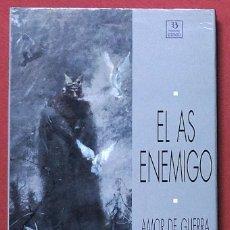 Cómics: EL AS ENEMIGO - AMOR DE GUERRA - ZINCO 1991. Lote 113046695