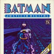 Cómics: BATMAN JUSTICIA DIGITAL - PEPE MORENO. Lote 113047371