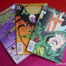 Cómics: DC PREMIERE 11, 12 Y 13 GREEN ARROW CAZADOR ACECHA ( GRELL ) DC ZINCO. Lote 113172819