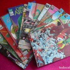 Cómics: GREEN ARROW 1 AL 12 ¡COMPLETA! ( GRELL ) DC ZINCO FLECHA VERDE. Lote 113173019