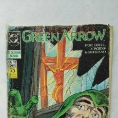 Cómics: GREEN ARROW DC CÓMICS EL CAZADOR ACECHA N° 13 EDICIONES ZINCO. Lote 113205874