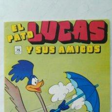 Cómics: EL PATO LUCAS Y SUS AMIGOS WARNER BROS EDICIONES ZINCO N° 19 CON LOS MASTERS DEL UNIVERSO PUBLICIDAD. Lote 113208930