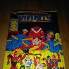 Comics: RETAPADO ZINCO DC INFINITY INC NUMEROS 12 AL 16. Lote 113286359