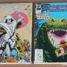 Cómics: DRAGONES Y MAZMORRAS 1 2 3 4 5 6 7 8 9 10 11 12 ( 2 RETAPADOS ) - COMPLETA, ZINCO, 1990.. Lote 113832843