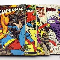 Cómics: LOTE DE 5 COMICS DE SUPERMAN - DC ZINCO. Lote 171644080