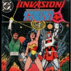 Cómics: INVASION.SUPERMAN,BATMAN,JLA,ETC. SERIE SEMI-COMPLETA(FALTAN 2 NUMS) TOTAL: 6 NUMEROS. Lote 237956780