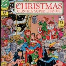 Cómics: JOHN BYRNE, DAVE GIBBONS, ETC. BATMAN CHRISTMAS CON LOS SUPERHEROES, ESP. 48 PAGINAS. EDIC. ZINCO.. Lote 172606652