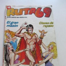 Cómics: RUTA 69 Nº 34 COMIC EROTICO ADULTOS - ZINCO ERSAD. Lote 288547223