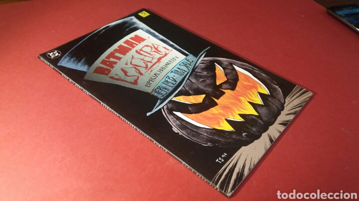 BATMAN LOCURA EXCELENTE ESTADO ESPECIAL HALLOWEEN DC ZINCO PRESTIGIO (Tebeos y Comics - Zinco - Batman)