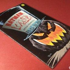 Cómics: BATMAN LOCURA EXCELENTE ESTADO ESPECIAL HALLOWEEN DC ZINCO PRESTIGIO. Lote 114331072