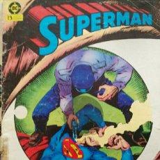 Cómics: SUPERMAN N°20 EL HOMBRE QUE VIO MORIR A SUPERMAN. Lote 114643215
