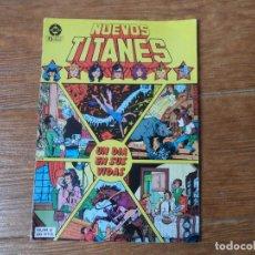 Cómics: NUEVOS TITANES Nº 8 EDICIONES ZINCO VOLUMEN 1. Lote 114971491