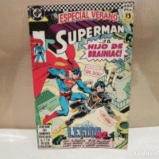 Cómics: ANTIGUO TEBEO SUPERMAN Y EL HIJO DE BRAINIAC ZINCO AÑO 1984 VER FOTOS. Lote 115077099