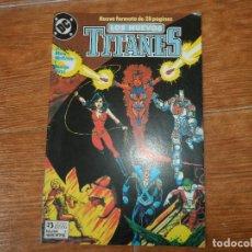 Cómics: NUEVOS TITANES Nº 1 EDICIONES ZINCO VOLUMEN 2. Lote 115107623