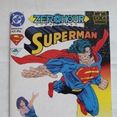 Cómics: ZERO HOUR- SUPERMAN- NADA QUE PERDER- DC-1994. Lote 115190743