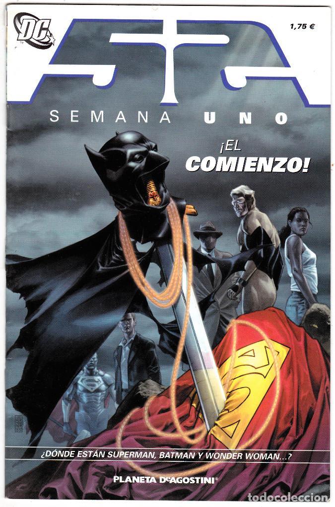 52 SEMANA UNO EL COMIENZO DC (Tebeos y Comics - Zinco - Batman)