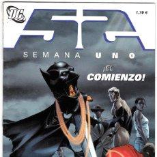 Cómics: 52 SEMANA UNO EL COMIENZO DC. Lote 185766653
