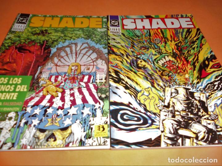 SHADE CÓMICS EL HOMBRE CAMBIANTE LIBRO 1 Y 2 (COMPLETA), ZINCO. BUEN ESTADO (Tebeos y Comics - Zinco - Prestiges y Tomos)