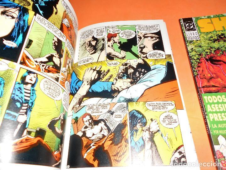 Cómics: SHADE Cómics El hombre cambiante Libro 1 y 2 (completa), Zinco. Buen estado - Foto 5 - 115493987