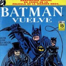 Cómics: BATMAN Y BATMAN VUELVE PELICULAS 1988 Y 9892 O´NELL/ ORDWAY CAJA 11+ BIBLIOTECA ARRIBA DERECHA. Lote 115517987