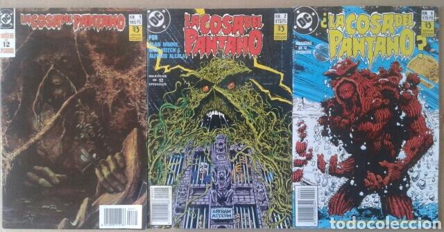 LOTE LA COSA DEL PANTANO (NÚMEROS 1-2-4-6-8-9 DE LA MAXISERIE DE 12 EPISODIOS POR ALAN MOORE) (Tebeos y Comics - Zinco - Cosa del Pantano)