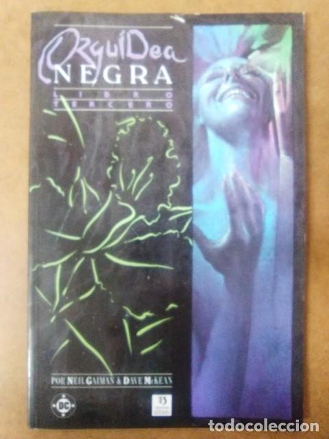 ORQUIDEA NEGRA LIBRO TERCERO (NEIL GAIMAN / DAVE MCKEAN) ZINCO - C13 - OFM15 (Tebeos y Comics - Zinco - Prestiges y Tomos)