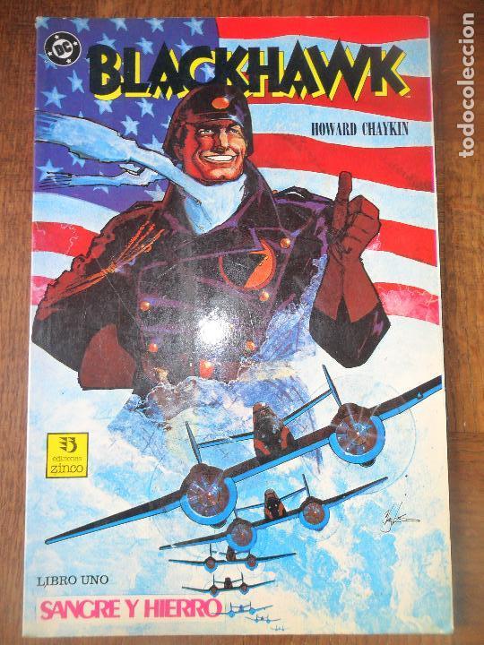 BLACKHAWK, LIBRO 1 - HOWARD CHAYKIN - ZINCO COMICS (Tebeos y Comics - Zinco - Prestiges y Tomos)