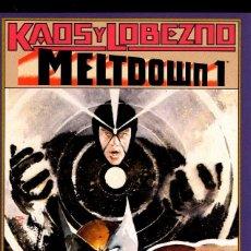 Cómics: MELTOOWN KAOS/LOBEZNO WALTER/LOUISA SIMONSON, KENT WILLIAMS COMPETA 4NºS 1992 CAJA 16+ BIBLI ARRI DE. Lote 115898375