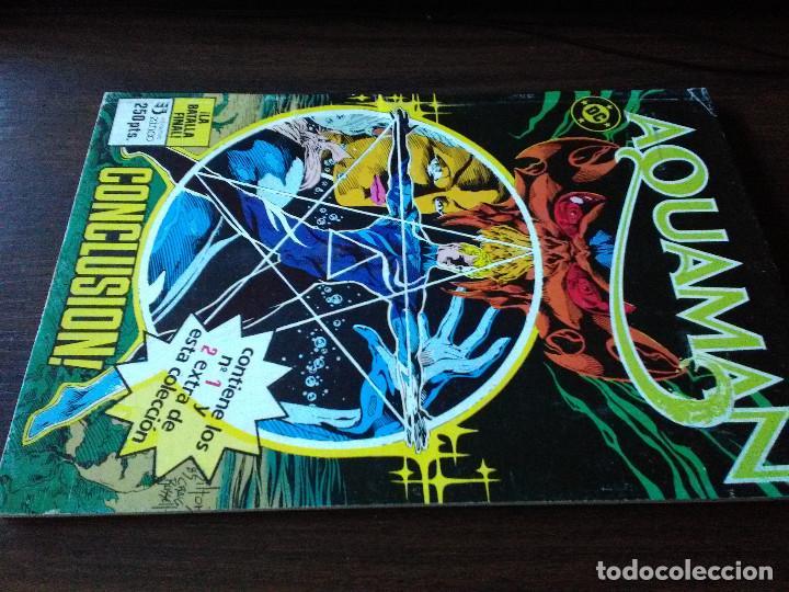 COMIC DC ZINCO RETAPADO ESPECIAL AQUAMAN NUMERO 1 Y 2 (Tebeos y Comics - Zinco - Retapados)