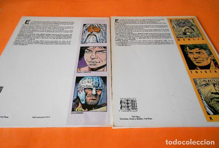 Cómics: LOS HEROES CABALLEROS - COTHIAS Y ROUGE - COMPLETA 2 TOMOS - ZINCO - TAPA BLANDA . BUEN ESTADO. - Foto 2 - 116436055