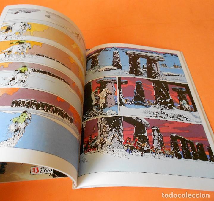 Cómics: LOS HEROES CABALLEROS - COTHIAS Y ROUGE - COMPLETA 2 TOMOS - ZINCO - TAPA BLANDA . BUEN ESTADO. - Foto 4 - 116436055