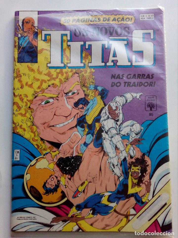 Cómics: Os Novos titãs,nas garras do Traidor. N°85 .Portugal - Foto 1 - 116688279