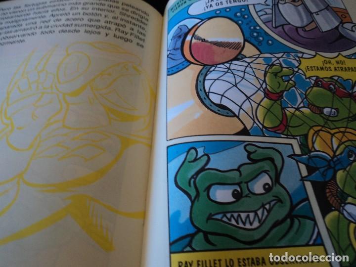 Cómics: TORTUGAS NINJA, LIBRO 3 y 4 HISTORIAS DE TELEVISION. WINGNUT Y SCREWLOOSE. EDS. ZINCO 1991 - Foto 3 - 116788043
