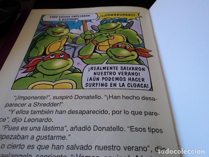 Cómics: TORTUGAS NINJA, LIBRO 3 y 4 HISTORIAS DE TELEVISION. WINGNUT Y SCREWLOOSE. EDS. ZINCO 1991 - Foto 5 - 116788043