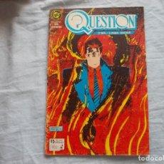 Cómics: QUESTION Nº 4. ZINCO. Lote 116823011